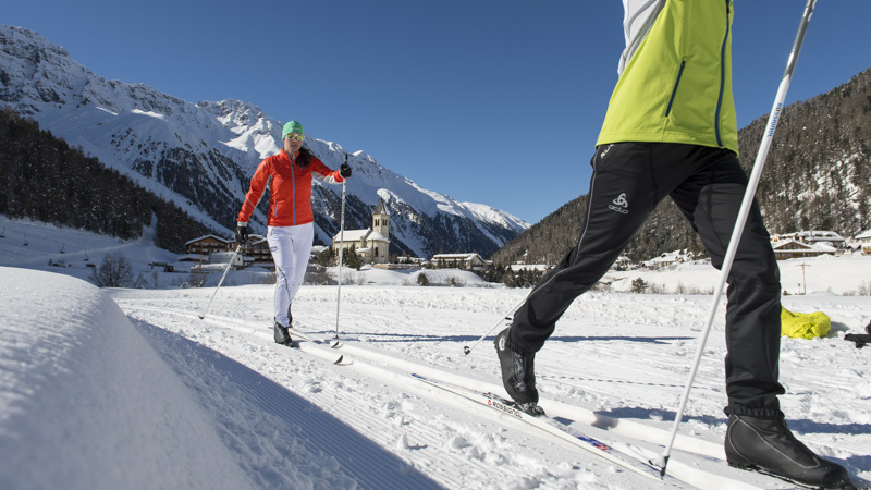 Cross-Country Skiing in Venosta Valley